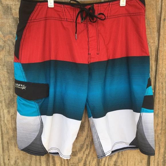 Billabong Platinum Board Shorts Size 34